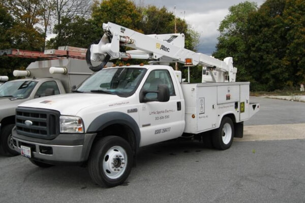 Little Sparkie Bucket Truck
