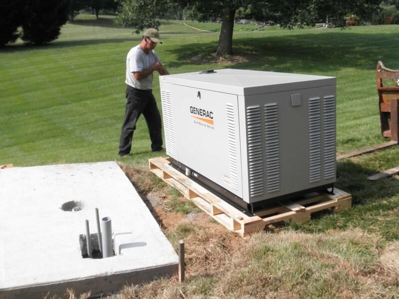 Generator Installation9