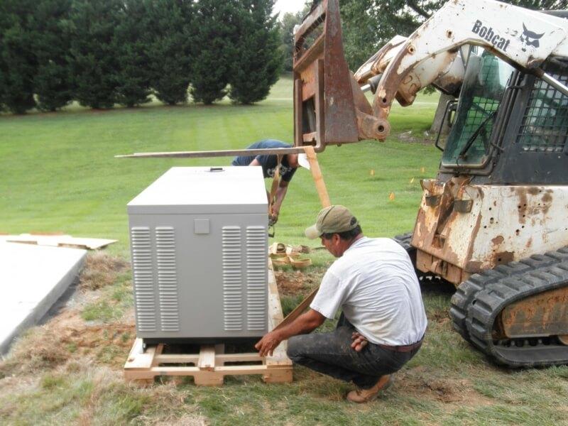 Generator Installation12