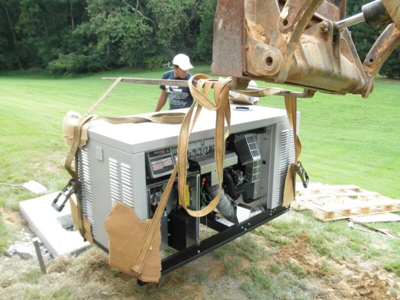 Generator Installation14