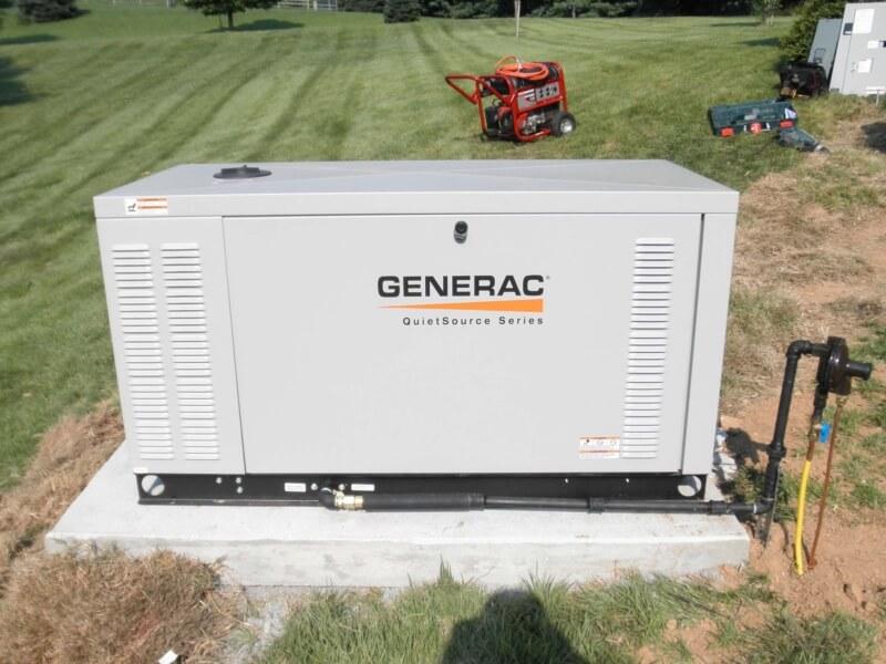 Generator Installation20