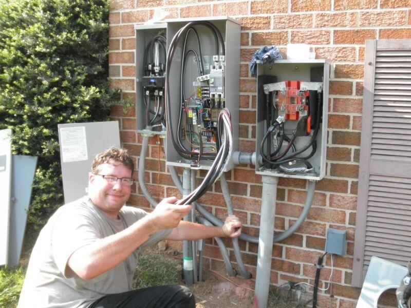Generator Installation23
