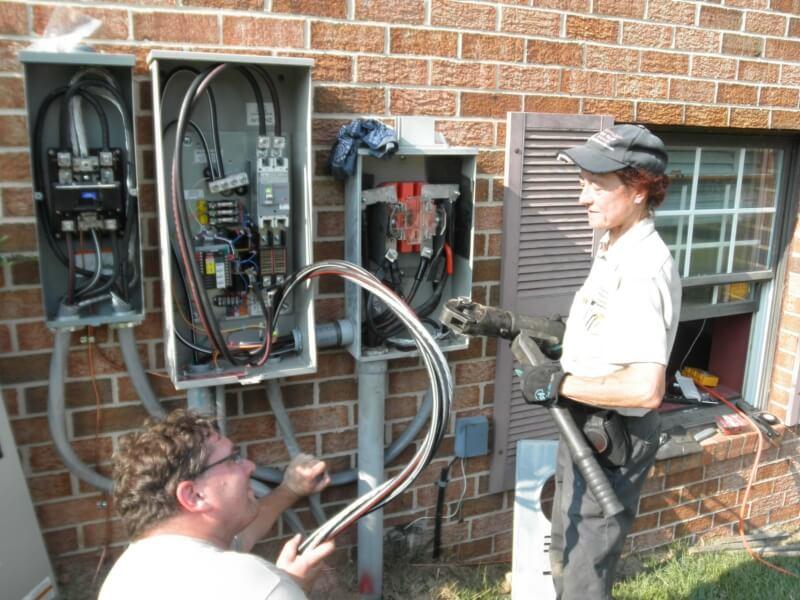 Generator Installation24