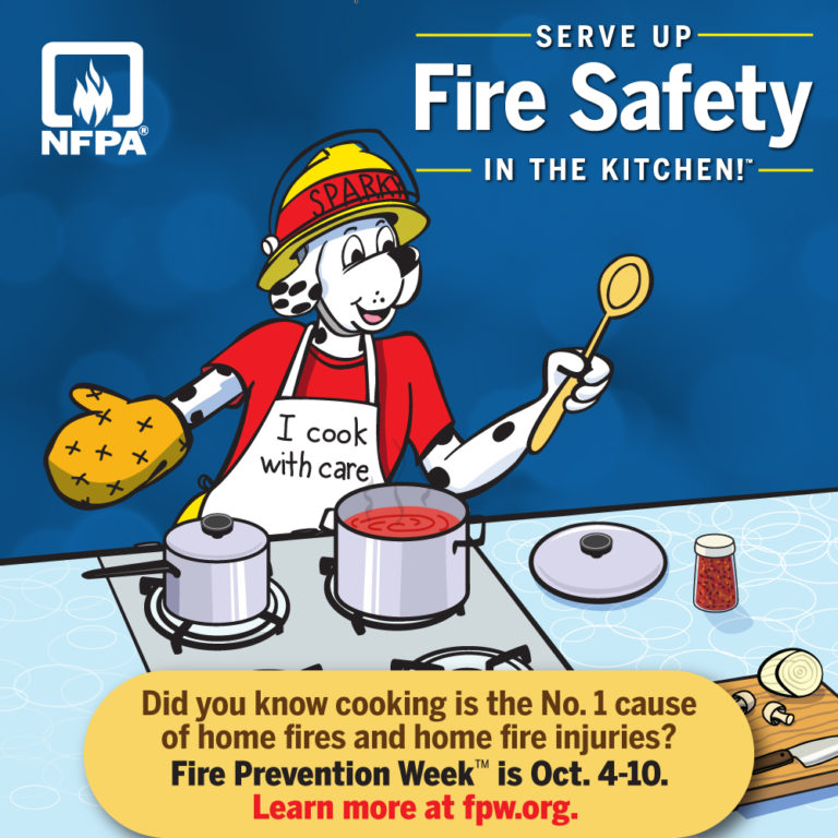Fire Prevention Week™ is October 4-10, 2020!