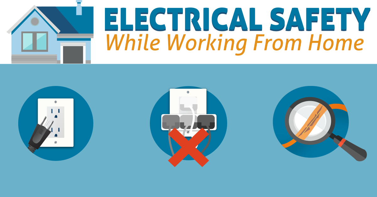 Electrical Safety While Working from Home